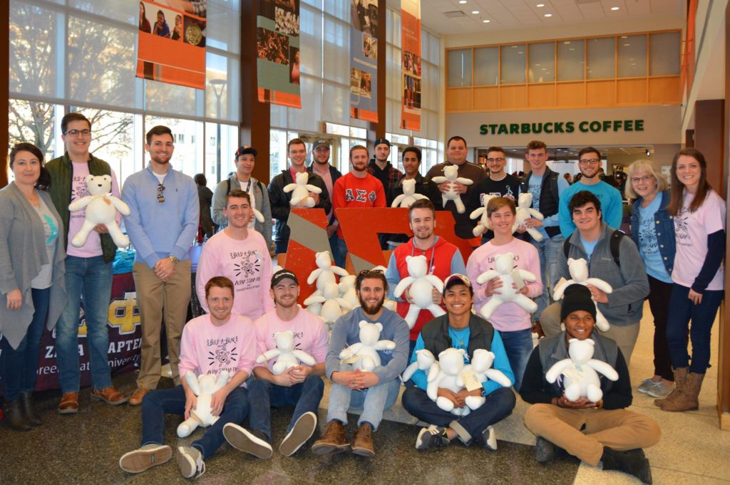 Build A Bear For Moms with Alpha Sigma Phi at BGSU